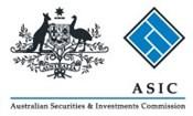 Asic Corporate Logo