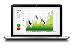 Laptop Trading Screen