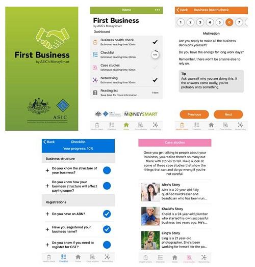 First Business App
