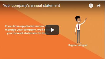 Annual Statement Videoscreen