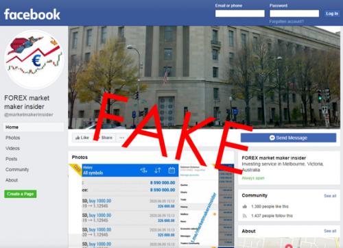 MMI scam Facebook page 1